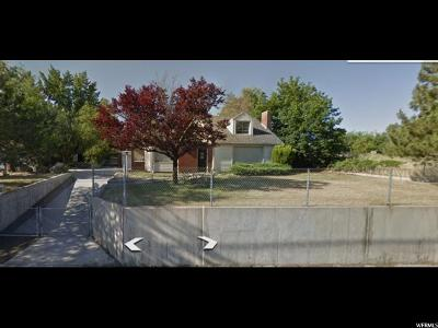 Cottonwood Heights Single Family Home For Sale: 1690 E Fort Union Blvd S