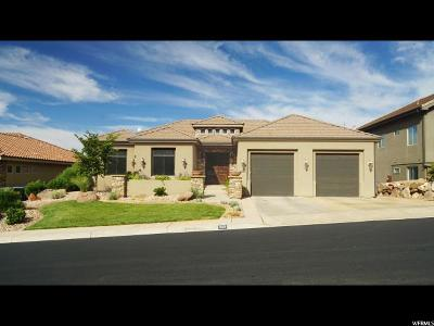 St. George Single Family Home For Sale: 1949 N Artesia Dr