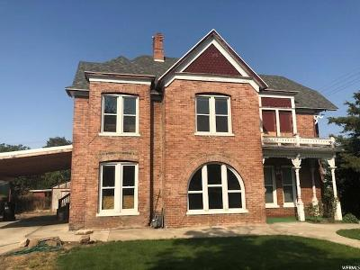 Brigham City Single Family Home For Sale: 95 N 200 W