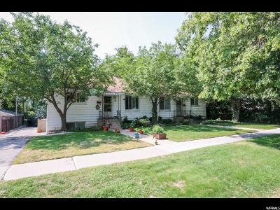 Salt Lake City Multi Family Home For Sale: 476 E 5th Aveune N