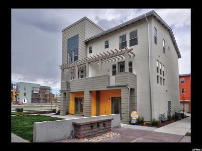 South Jordan Townhouse For Sale: 4963 W Daybreak Pkwy S #150