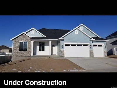 Lehi Single Family Home For Sale: 676 W Mailwagon Rd N