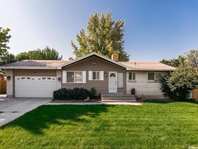 Murray Single Family Home For Sale: 565 W Vine St S