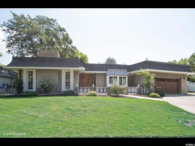 Murray Single Family Home For Sale: 6205 S Rodeo Ln