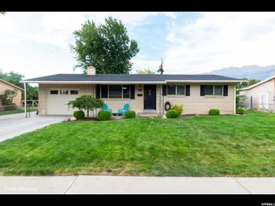 Orem Single Family Home For Sale: 672 W 80 N