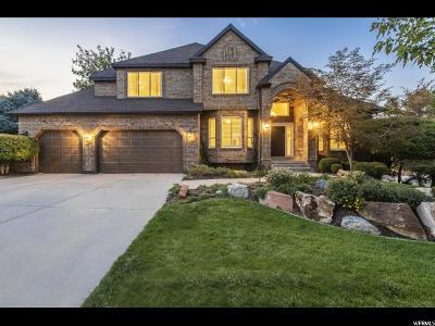 Cottonwood Heights Single Family Home For Sale: 3201 E Chula Vista Cir S