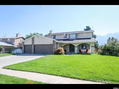 Sandy Single Family Home For Sale: 1836 E Tramway Dr S