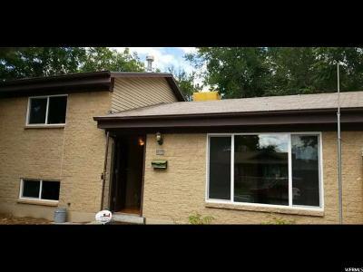 Murray Single Family Home For Sale: 5235 S 1071 E