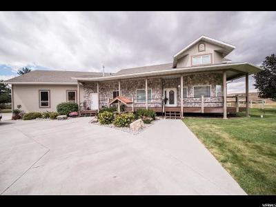 Preston Single Family Home For Sale: 3192 E Riverdale Rd