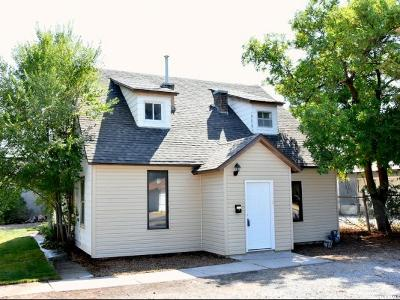 Tremonton Single Family Home For Sale: 131 W 100 N