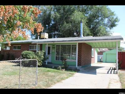 Salt Lake City Single Family Home For Sale: 1356 N 1500 W