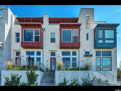 South Jordan Townhouse For Sale: 4697 W Daybreak Rim Way