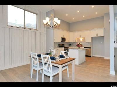 Salt Lake City Single Family Home For Sale: 3862 Quail Hollow Dr