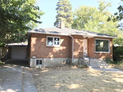 Brigham City Single Family Home For Sale: 312 N 100 W