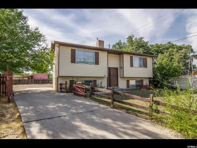 Salt Lake City Single Family Home For Sale: 5804 S Tressler Rd W