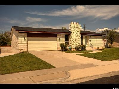 Midvale Single Family Home For Sale: 188 W Marquette Dr