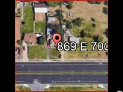 Davis County Residential Lots & Land For Sale: 869 E Hwy 193 S