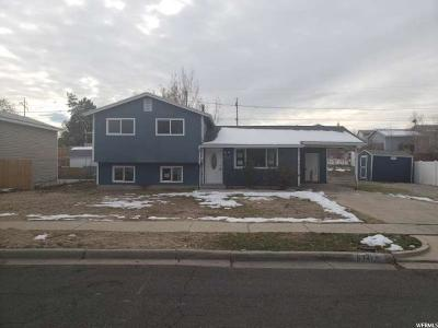 West Valley City Single Family Home For Sale: 6341 West King Valley Dr