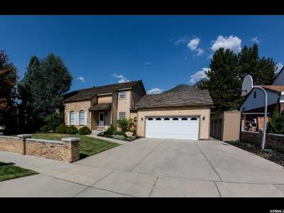 Cottonwood Heights Single Family Home For Sale: 8705 S Sugarloaf Dr E