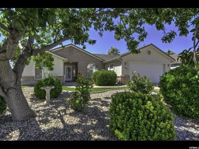 St. George Single Family Home For Sale: 187 N Westridge Dr #139