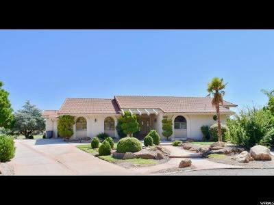 St. George Single Family Home For Sale: 1338 Nelson Cir