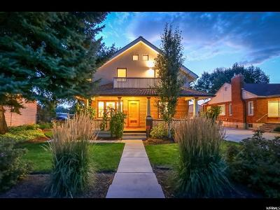 Salt Lake City Single Family Home For Sale: 2780 S Melbourne St E