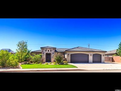 St. George Single Family Home For Sale: 3090 E 2720 S