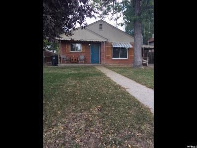 Single Family Home For Sale: 575 S 400 E
