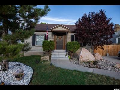Salt Lake City Single Family Home For Sale: 2743 S Lake St E