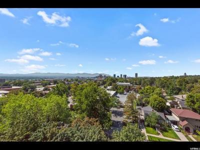 Salt Lake City Condo For Sale: 777 E South Temple #8F