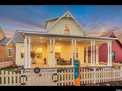 South Jordan Single Family Home For Sale: 4608 W Isla Daybreak Rd S #1-111