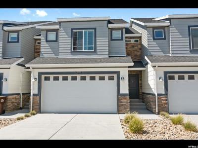 Bluffdale Townhouse For Sale: 15018 Gallant Dr