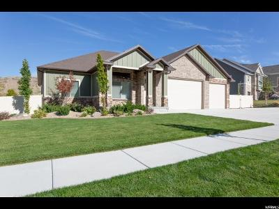 Herriman Single Family Home For Sale: 14993 S Echo Bluff Dr W