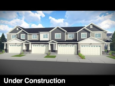 Lehi Townhouse For Sale: 3687 W 1700 N #1024