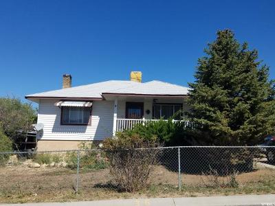 East Carbon UT Single Family Home For Sale: $64,900