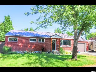 Salt Lake City Single Family Home For Sale: 429 E Wendell Way