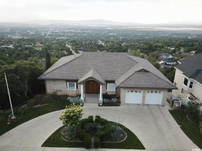 Bountiful Single Family Home For Sale: 344 Temple View Dr