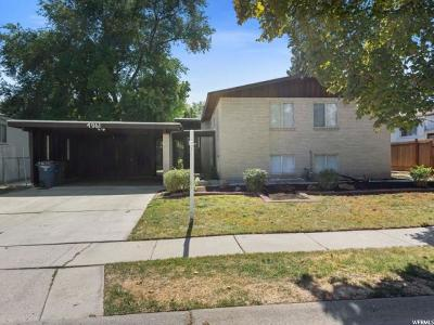 West Valley City Single Family Home For Sale: 4961 W Mandan Ave. S