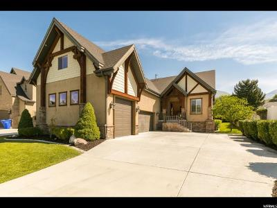 Cottonwood Heights UT Single Family Home For Sale: $799,000