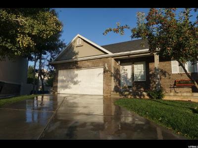 South Jordan Single Family Home For Sale: 10569 S Cedar Wood Ln