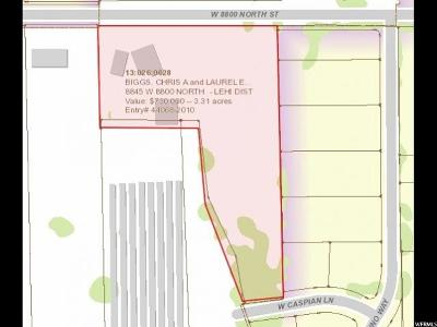Lehi Residential Lots & Land For Sale: 8845 W 8800 N