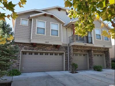 West Jordan Single Family Home For Sale: 1407 W Stone Mdw S