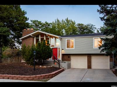 Cottonwood Heights UT Single Family Home For Sale: $425,000