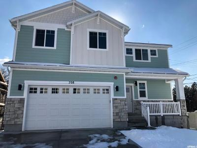 Salt Lake City Single Family Home For Sale: 708 E Cami Nicole Ln S #LOT 4