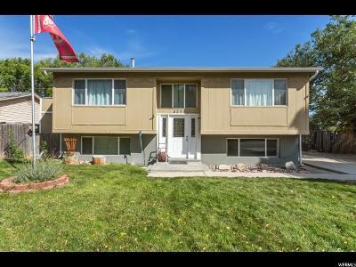 West Jordan Single Family Home For Sale: 8295 S 3450 W