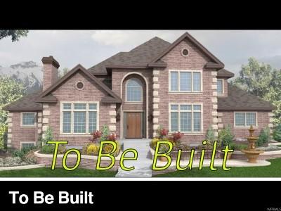 West Jordan Single Family Home For Sale: 1061 W Alpine Ridge Cir #43