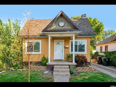Salt Lake City Single Family Home For Sale: 275 E Wentworth Ave