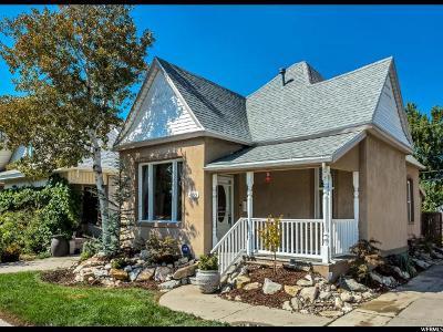 Salt Lake City Single Family Home For Sale: 433 Hollywood Ave