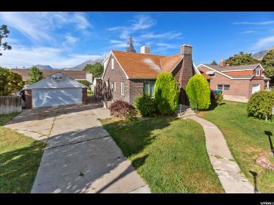 Orem Single Family Home For Sale: 287 E 100 N