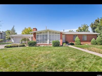 Holladay Single Family Home For Sale: 5588 S Indian Rock Rd E